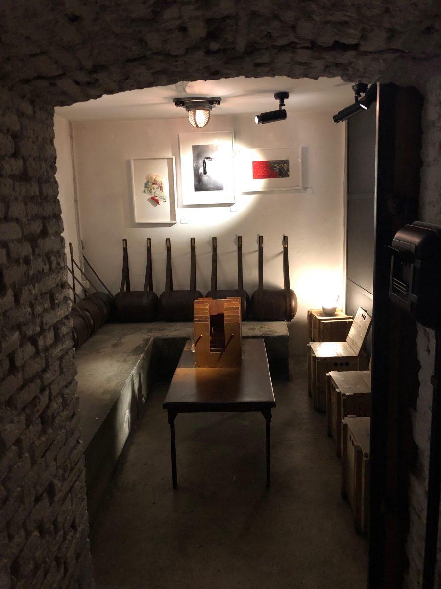 Kike Keller bar-galería de estilo loft