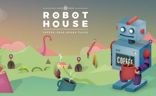 Robot House Barcelona: Coffee, Food, Books, Talks
