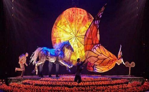 Nuevo especial de Cirque du Soleil on line