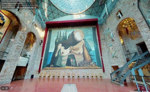 El Teatro-Museo Dalí:  visita virtual desde el surrealismo