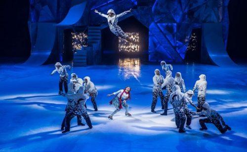 CRYSTAL y AXEL, los primeros espectáculos en hielo producidos por Cirque du Soleil