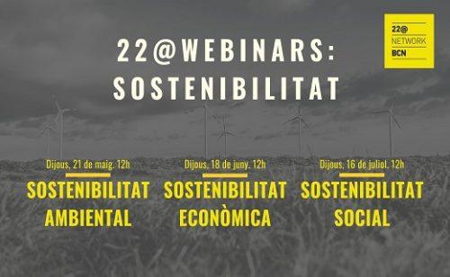 22@ Webinars: Sostenibilidad Ambiental