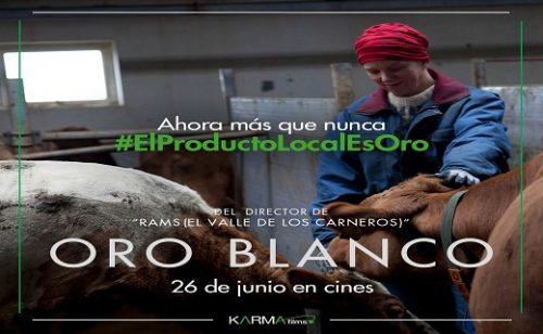 Estreno de la película ORO BLANCO: El Producto Local Es Oro