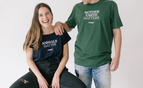 Uttopy: Moda sostenible para apoyar causas socio ambientales